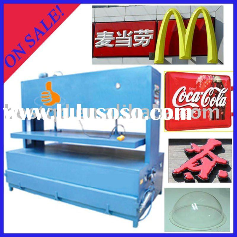 Automatic Acrylic Vacuum Blowing Compress Forming Moulding Machine