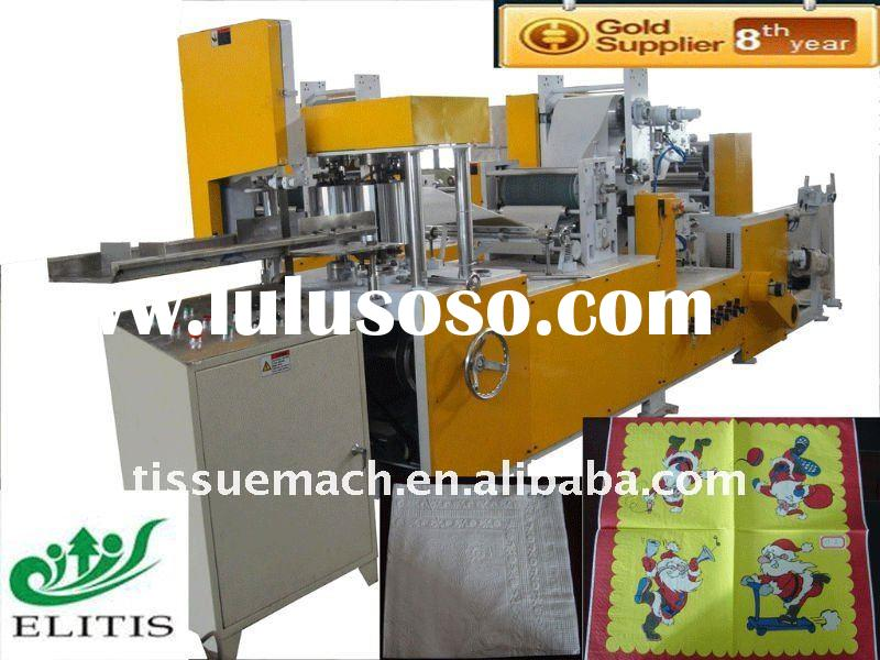 Automatic High Speed Paper Napkin Folding Machine