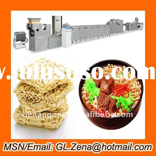 Automatic instant noodle making machine / instant noodle processing line