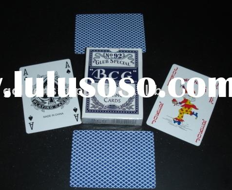 BCG Poker cards