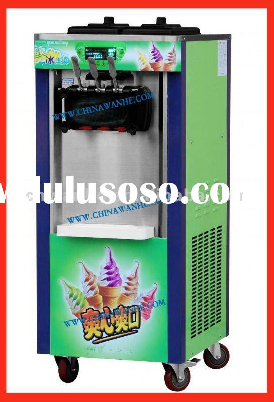 BQ-208FC Rainbow Soft Ice Cream Machine