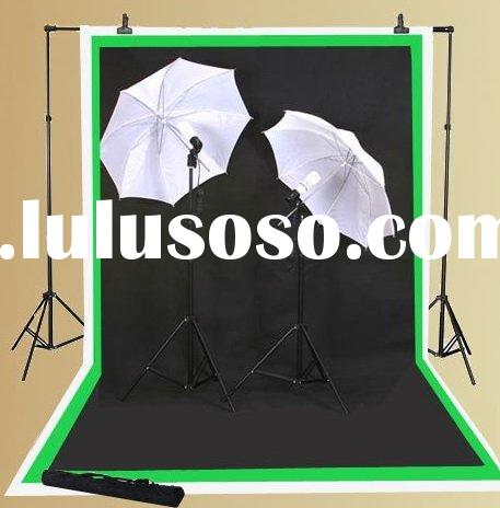 Background stand set: Photo Studio Lighting