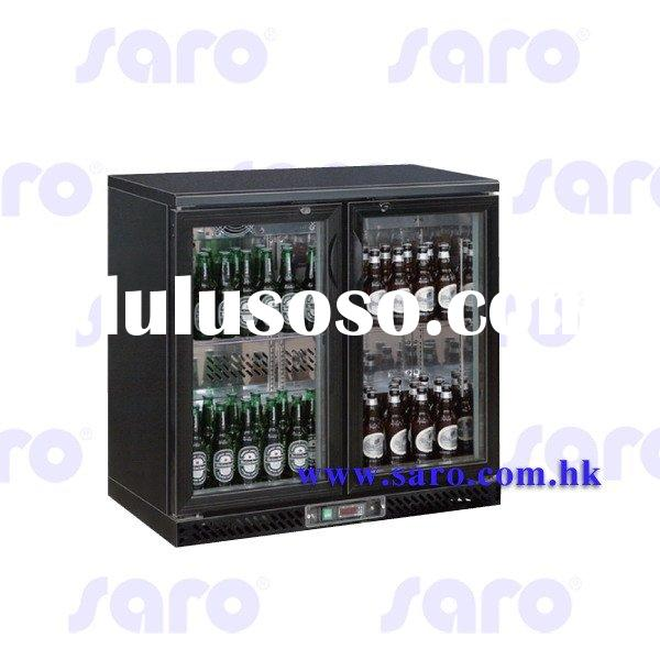 Bar Cooler Series, Height: 860mm (Under counter Height), Double pull door, 4 shelves, AB186