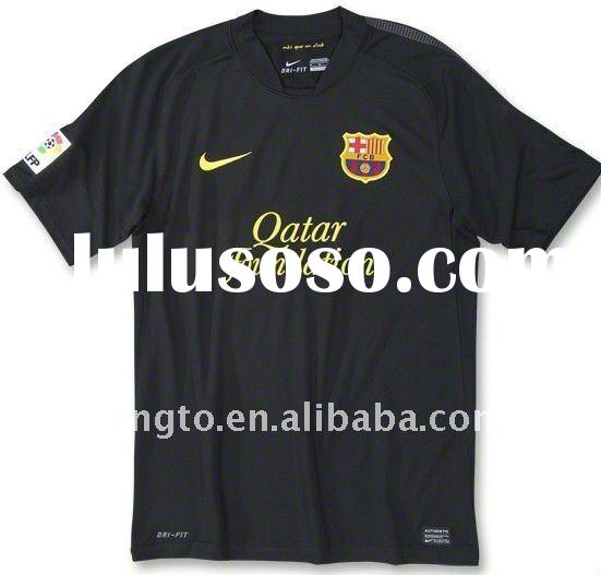Barcelona 11-12 Away Soccer Jersey front