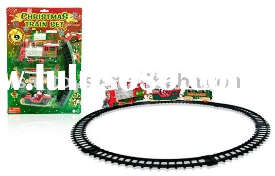 Battery operated christmas train with sound