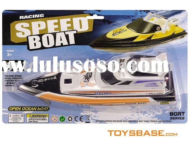 Battery operated mini plastic toy boats for kids BZX110421