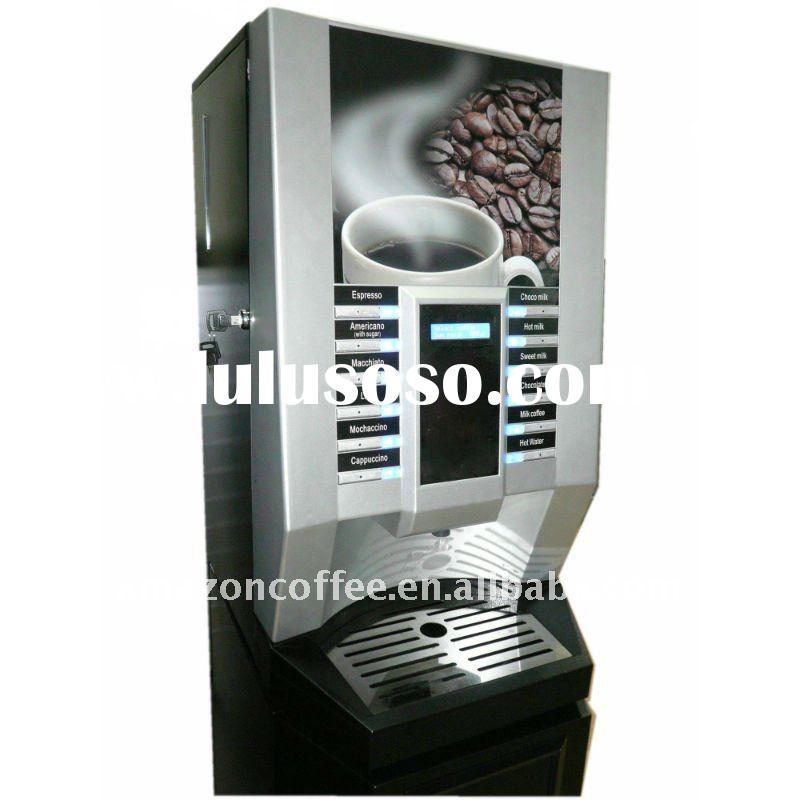 Bean to Cup Coffee Vending Machine with 12 hot drinks selections