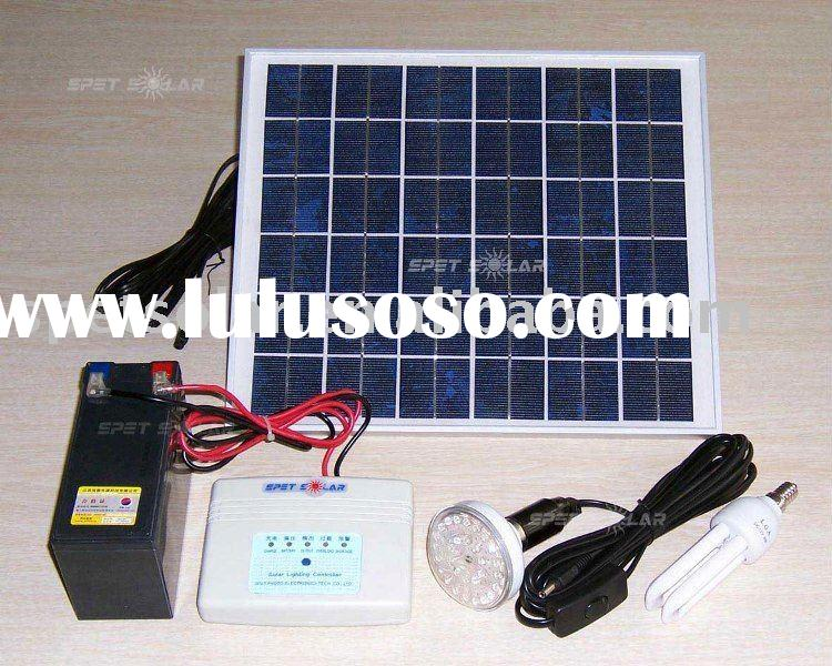Best price portable small solar home system 10W