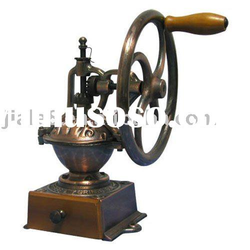 Big wheel coffee grinder