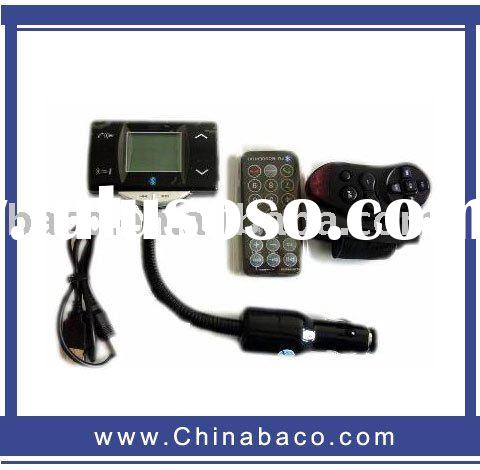 Bluetooth Car Kit with FM Transmitter