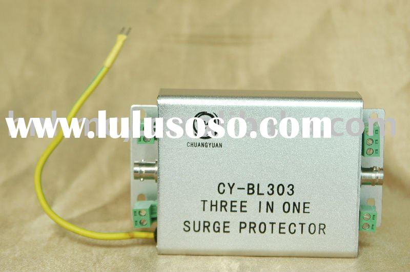 CCTV Surge Protection device for video,power and data of surveillance cameras from lightning strike