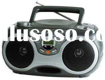 CD/MP3 Boombox w/ USB and SD/MMC Card Slot