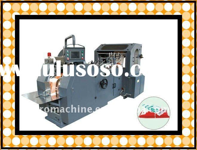 CE Standard KFC Food Paper Shopping Bag Making Machine