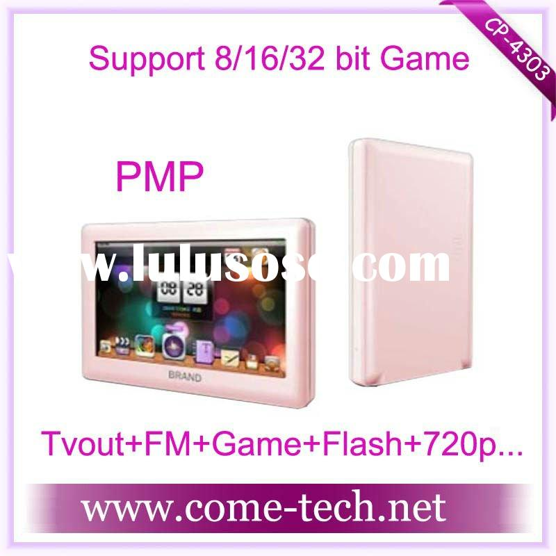 CP-4303(4.3 inch screen mp5 player PMP MP4 MP3 free mp4 player game download)