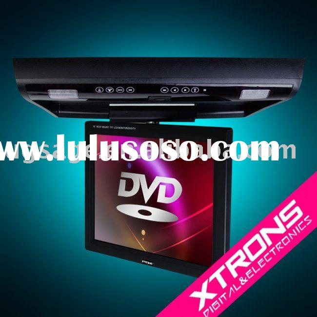 CR1502 Flip down car DVD Player car roof dvd player with Built-in IR and TV tuner