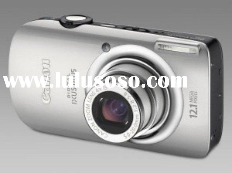 Canon Digital IXUS 110 IS (Silver) Digital Camera