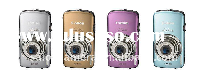 Canon IXUS 200 IS Digital Camera