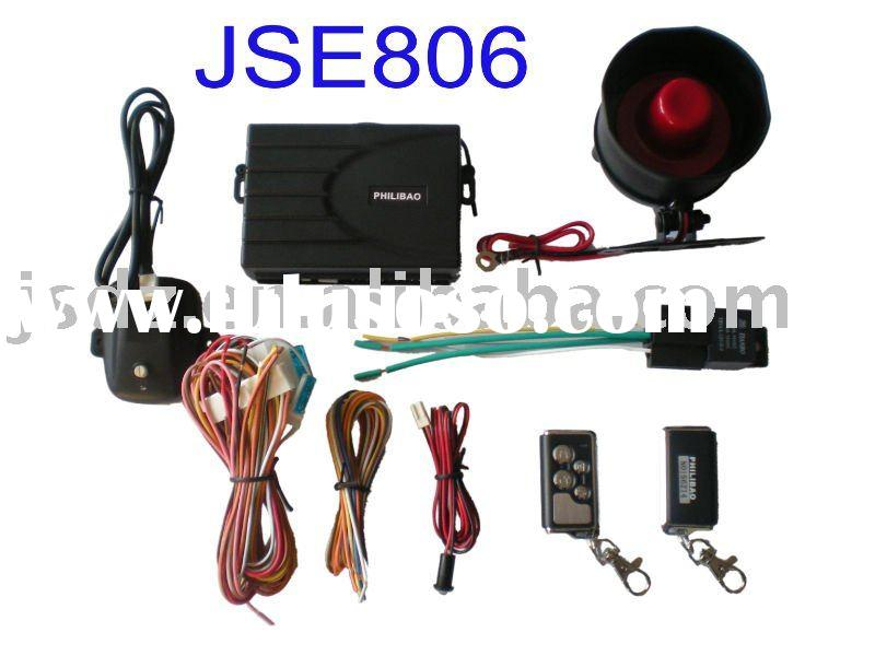 Car Alarm System with Central Door Lock Function