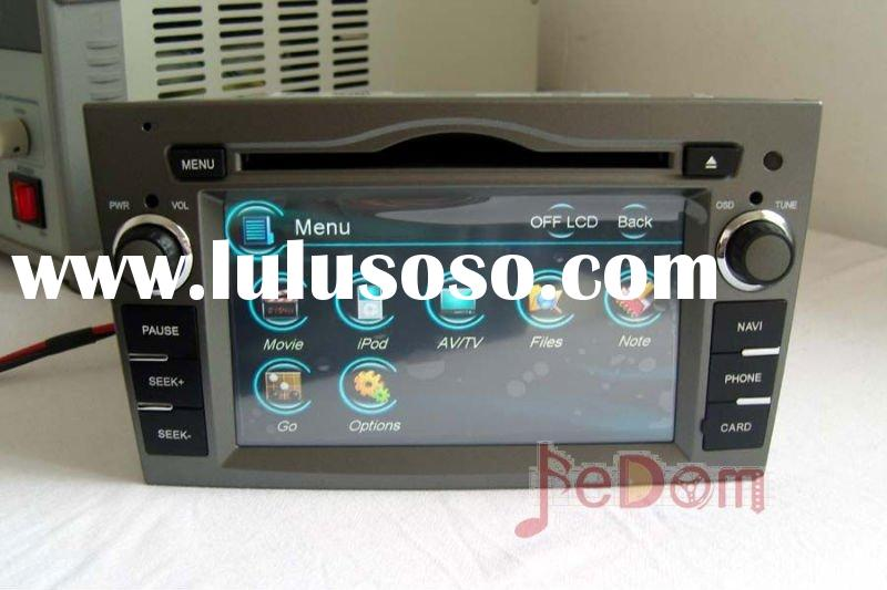 Car DVD player audio FM/AM RDS Bluetooth iPod MP3 GPS for Opel Zafira/Meriva/Corsa