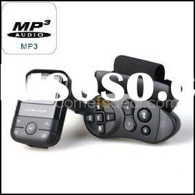 Car MP3 Player With FM Transmitter, LCD Display, Remote Control