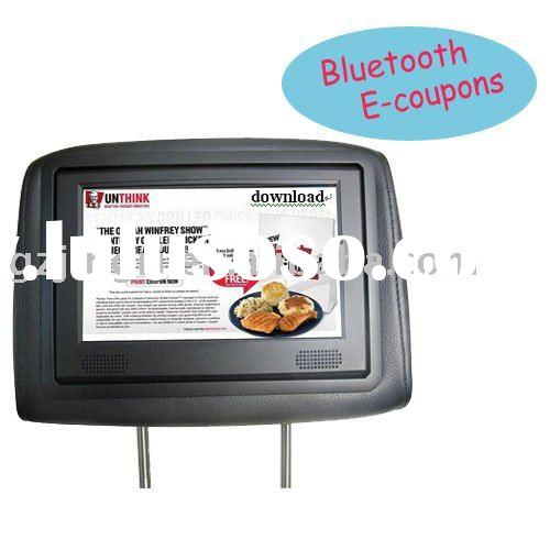 Car Video/Taxi Advertising Player with Bluetooth,3G,SD,USB