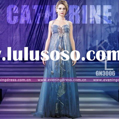 Catherine Fashion Chiffon Evening Dress By Designers 2011 Sale GN3006