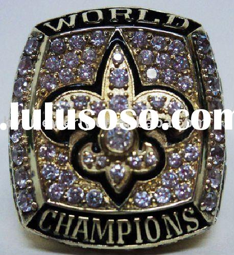 Championship ring of 2009 NEW ORLEANS SAINTS