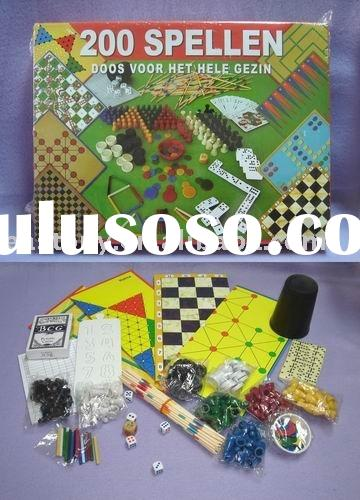 Chess Board Game for family party,Card Game,Monopoly style board game ET-231002