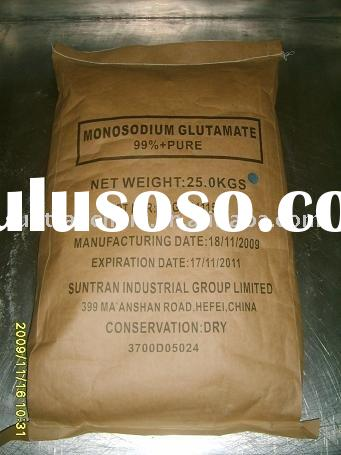 China MSG/ Monosodium Glutamate 99% up