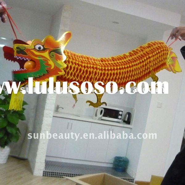 Chinese dragon , new year decoration , dragon garland