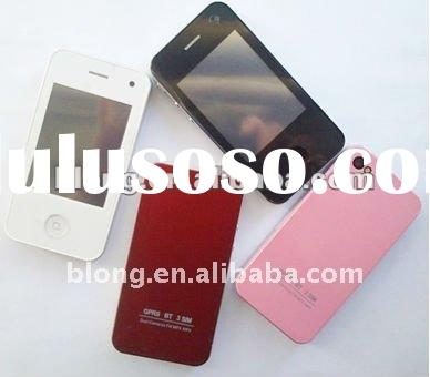 Chinese dual sim dual working android 3g gps mobile phone