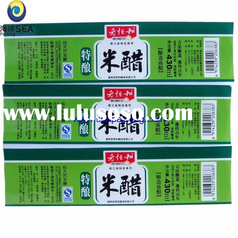 Chinese profesional manufacturer heat-transfer printing label