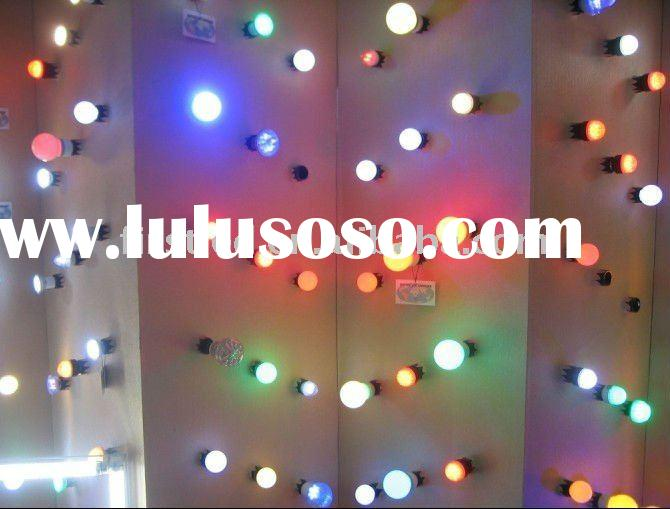 Christmas led pc ball light,g45 PC led bulb,for holiday,outdoor decoration lighting