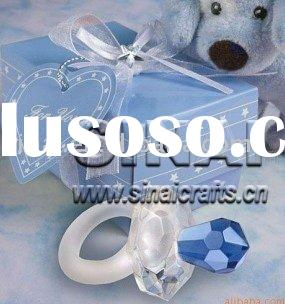 Clear Crystal Pacifier / Wedding Gifts
