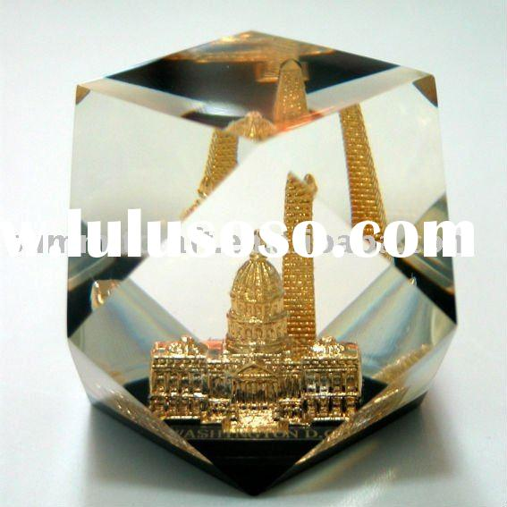 Clear Resin craft with embedment