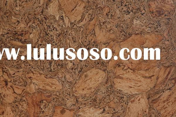 Click cork flooring with Unilin glueless installation system