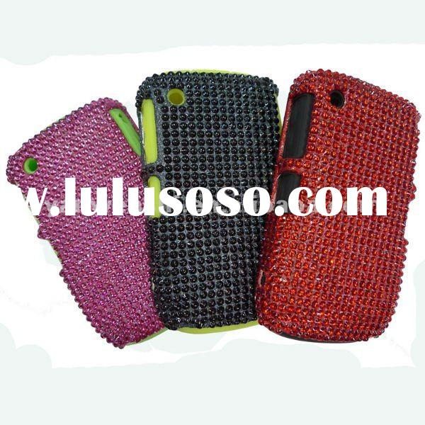 Combo Bling Cell phone Case for Blackberry Curve 8520 (Over 7 years of mobile phone case producing)