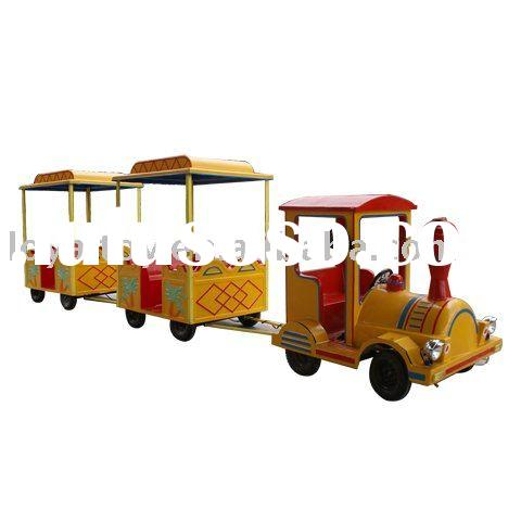 Commercial grade trackless train