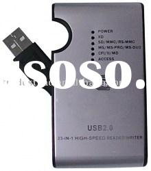 Computer Peripheral - USB 2.0 Multiple Memory Card Reader, 12 In 1, High-speed Transfer Rate Up To 4