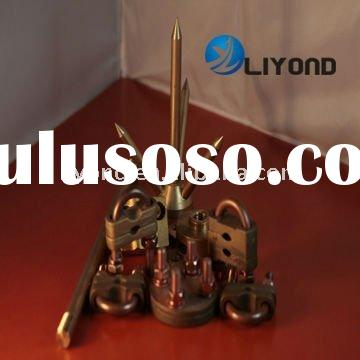 Copper Ground clamp and earth rod of Grounding lightning protection accessories