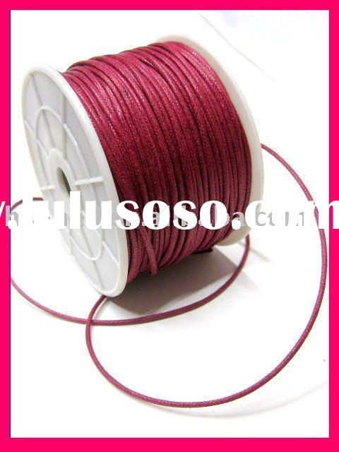 Cotton Wax Cord
