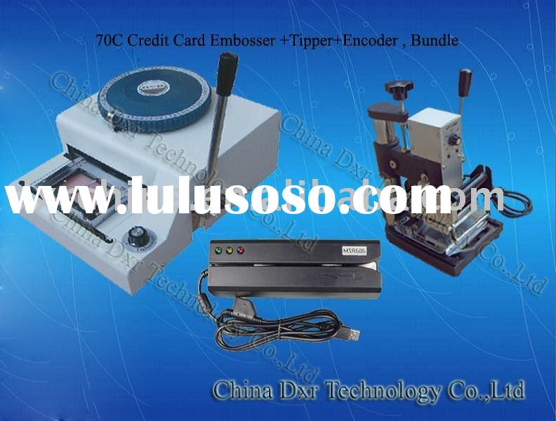 Automatic Card Reader ~ Credit card automatic embosser tipper