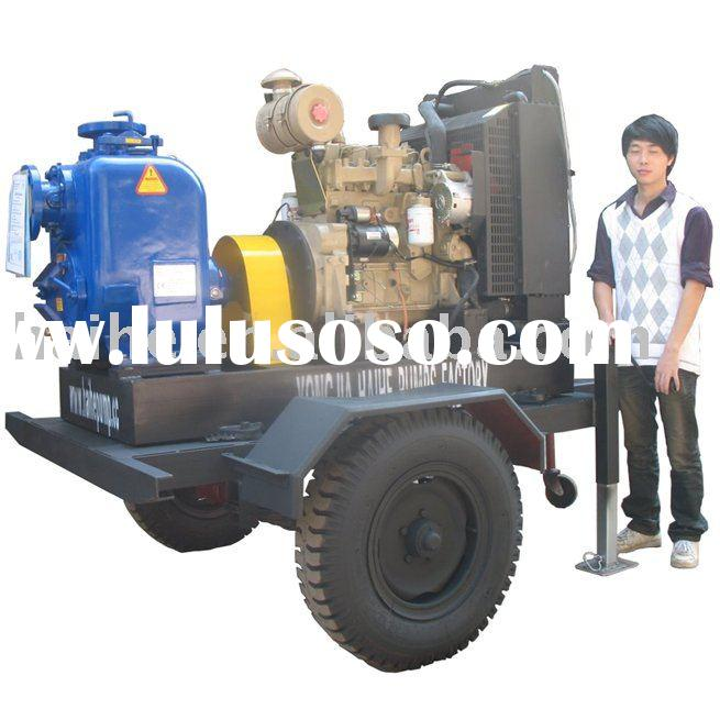 Cummins Diesel Engine Driven Trash Pump