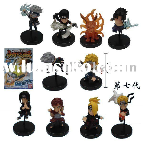 Cute Naruto action figures toys