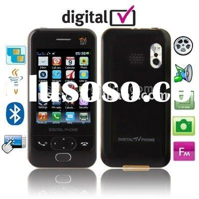 D998, DVB-T (MPEG-2), JAVA Bluetooth FM function Mobile Phone with Remote Control, Dual Sim cards Du