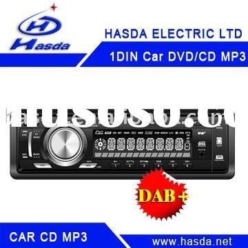 DAB car radio with DVD/CD/MP3 player