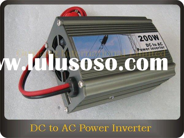 DC 12V to AC 220V 200W Car Power Inverter with USB Port