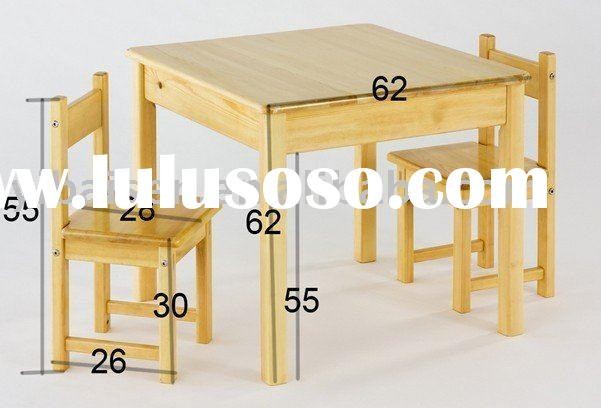 Pdf plans childrens wooden table and chairs plans free Wooden childrens furniture