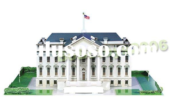 DIY 3D Puzzle WHITE HOUSE(United State)