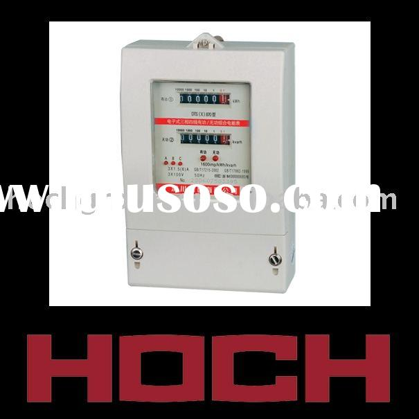 DTS(X),DSS(X)870 three phase active and reactive energy combination meter